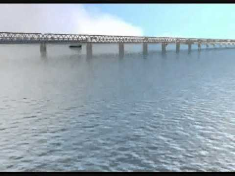 Patna Ganga Bridge animation