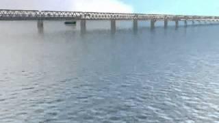 Patna Ganga Bridge Animation