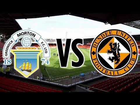 UNBELIEVABLE WIN! | Morton v Dundee United vlog *The Morton Journey #72*