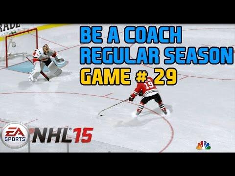 NHL 15 Gameplay Xbox One : Be a GM/Coach Regular Season Game 29 Blackhawks @ Bruins 1080p HD