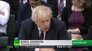 \'Scary he represents a nuclear power\' - Russia on Johnson comments