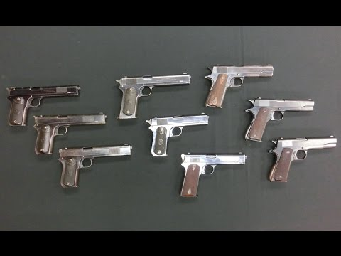 Development of the Model 1911 Pistol