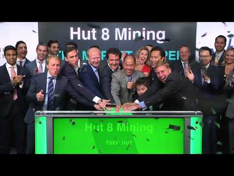 Hut 8 Mining Corp. Opens Toronto Stock Exchange, March 26, 2018