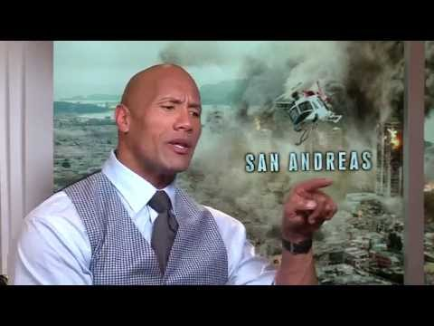 "San Andreas Interview - Dwayne Johnson ""The Rock"""