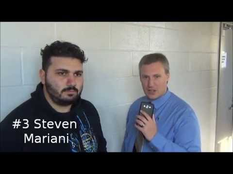 Steven Mariani - post game interview - Oct 16, 2016