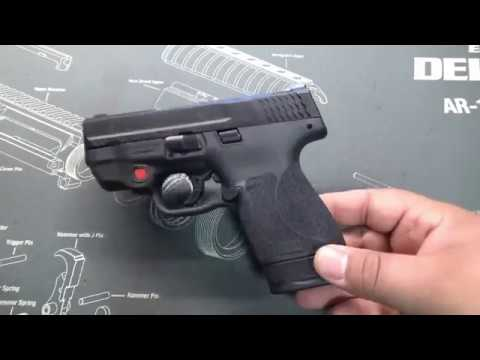 S&W M&P Shield 9mm 2.0 with Crimson Trace Laser