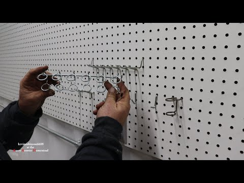 pegboard and pegs