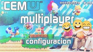 如何用CEMU多人玩New Super Mario U - 教學影片
