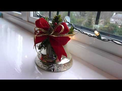 'Interesting' Christmas Music Playing Bell Decoration!