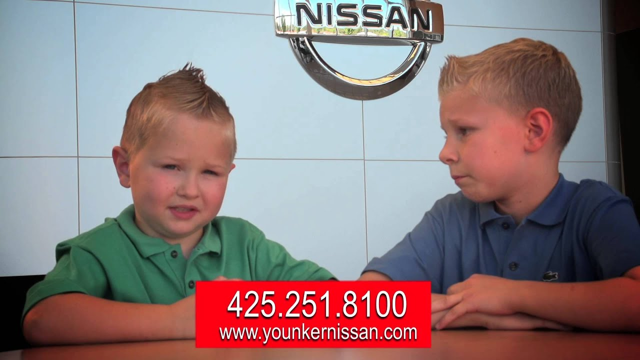 YOUNKER SPOT--Younker Nissan of Renton - YouTube