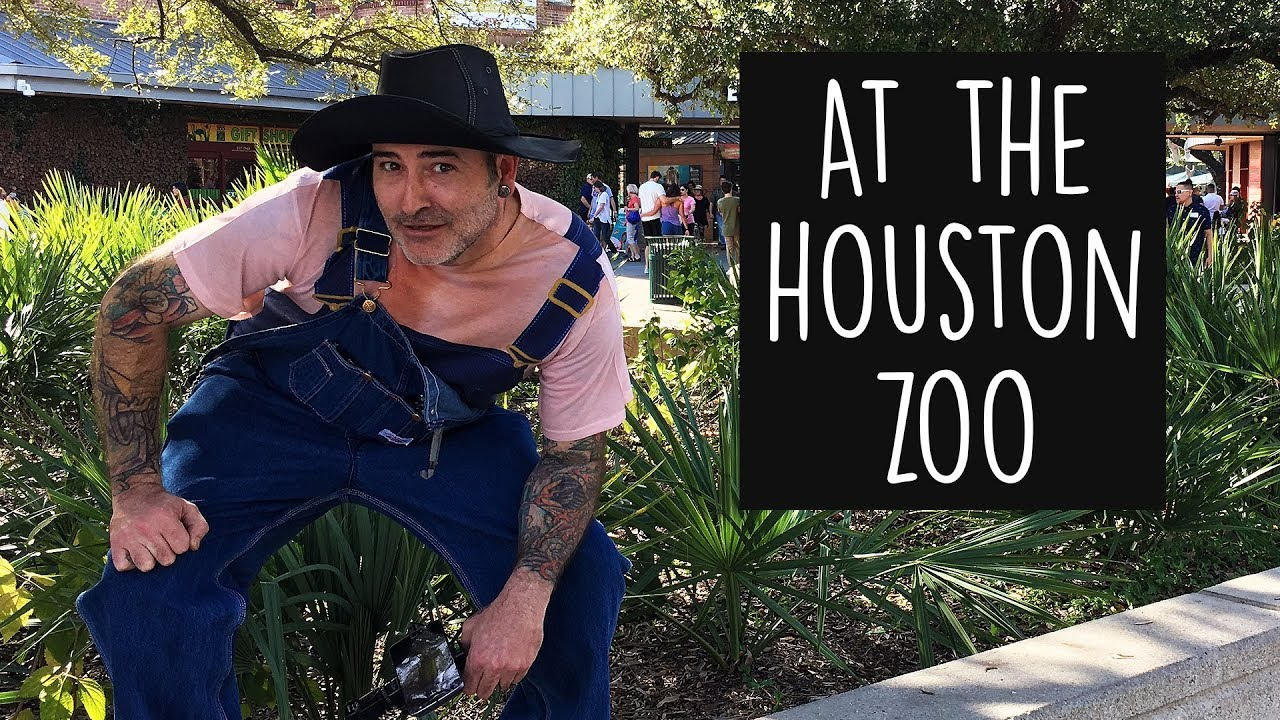 A trip to the Houston Zoo with Catfish Cooley and Tommy Gun