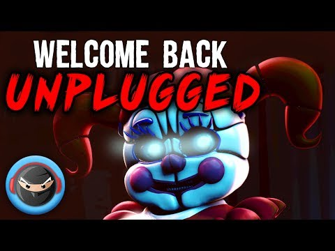 """SISTER LOCATION SONG """"Welcome Back"""" (UNPLUGGED ACOUSTIC COVER)"""