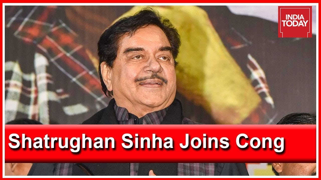 Rebel BJP Leader, Shatrughan Sinha To Join Congress On 28th March