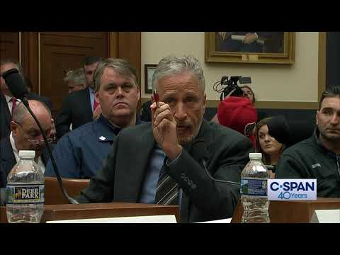 Woody and Wilcox - Watch Jon Stewart Scold Congress For Not Funding 911 First Repsonders