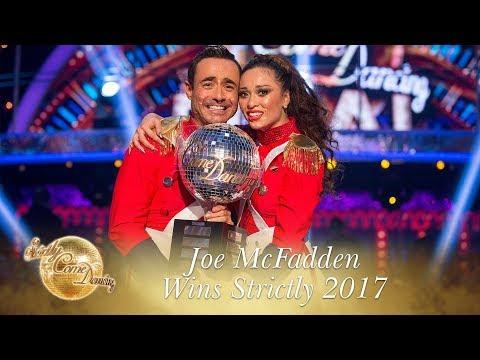 Joe McFadden & Katya Jones win Strictly Come Dancing 2017 - Final 2017