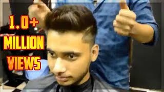 Best Hairstyle for Round faces Men | Medium fade | Men's Haircut & Hairstyle | TheRealMenShow★ #4
