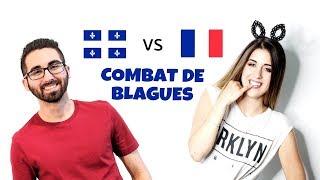 Tu ris, tu perds: Québec vs France