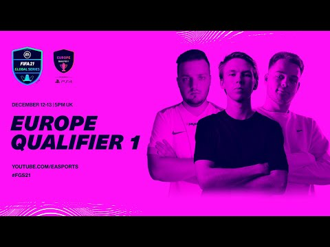 Europe Qualifier 1   Day 1   FIFA 21 Global Series