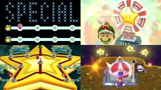 Evolution of Secret Final Levels in Mario games