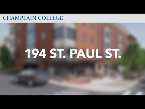 194 Saint Paul St. | Champlain College