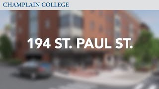 194 Saint Paul St.   Champlain College