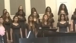 Gateway HighSchool Bel canto MPA Iraqi Peace Song