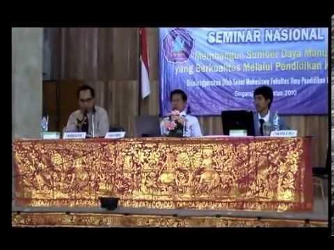 Seminar Nasional | Membangun SDM, Pendidikan Karakter -1