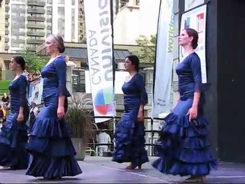 Flamenco Dance Artists in Canada at Toronto Hispanic Fiesta