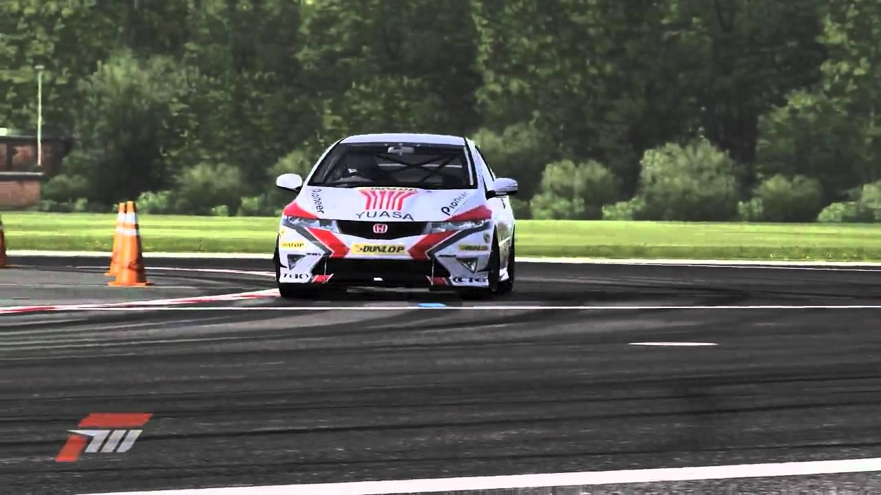 BTCC Forza 4 Team Dynamics Honda Civic. - YouTube