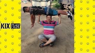 Watch keep laugh EP342 ● The funny moments 2018