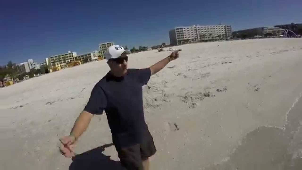 Fishing and metal detecting st pete beach youtube for Fishing st pete beach