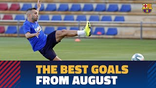 TOP GOALS | The best training goals from the month of August