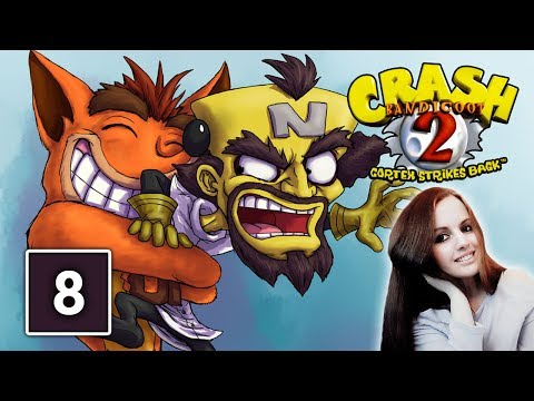 Crash Bandicoot 2 Cortex Strikes Back Gameplay Walkthrough Part 8