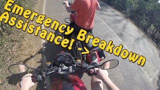 F*CK THIS BIKE! Emergency Breakdown Assistance Indian Style! Goa India Motovlog Ep.5