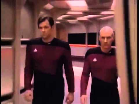 picard riker being cooler than everything for 10 hours youtube