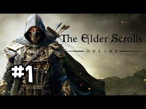 Elder Scrolls Online BLIND Let's Play with Mr Anderson [Part 1]