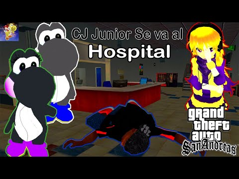 CJ Junior se va al Hospital - GTA San Andreas Loquendo