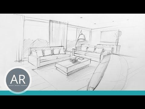 Innenarchitektur Mappe Beispiel innenarchitektur zeichnungen perspektivisch zeichnen lernen