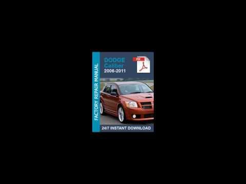 2007 dodge caliber service repair manual download