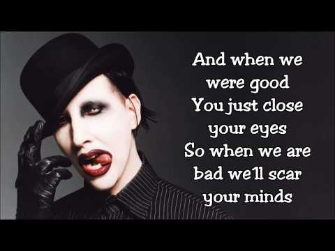 Marilyn Manson - The Fight Song (Lyrics)
