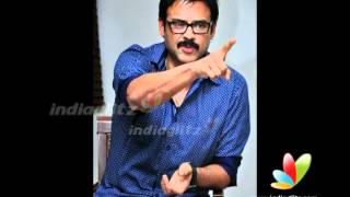 Venky visits Krishnam Vande Jagatgurum film sets
