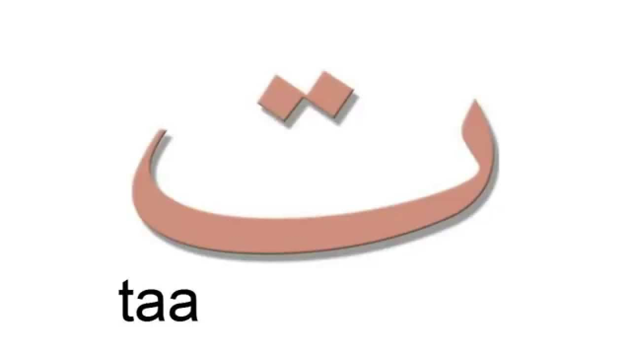 Words On The Letter Thaa In Arabic
