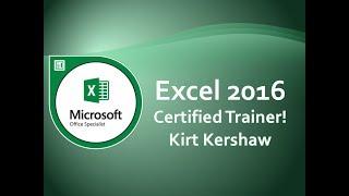 Excel 2016 Navigating Shortcuts, Tips, Tricks & Selecting Cells