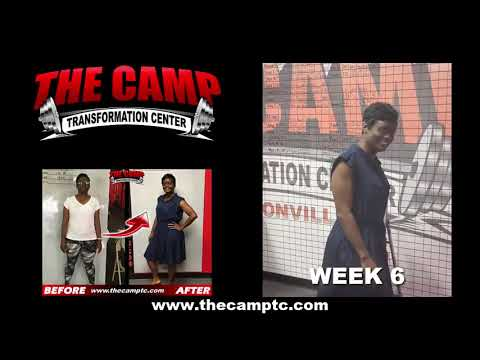 Jacksonville FL Weight Loss Fitness 6 Week Challenge Results - Tomeka G.