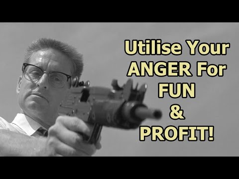 Anger Mismanagement - How To Utilise Your Anger For Fun & Profit! - Just A Thought #33