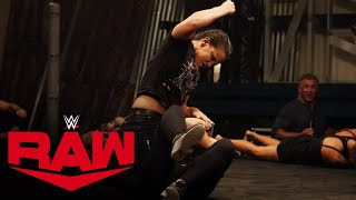 Shayna Baszler demolishes three opponents in Raw Underground: Raw, Aug. 10, 2020