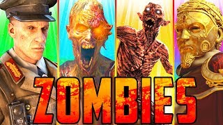 ALL BLACK OPS 4 ZOMBIES EASTER EGGS!