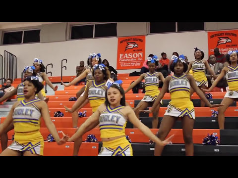 Dudley high school Cheer Highlights