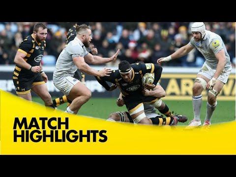 Wasps V Bath Rugby - Aviva Premiership Rugby 2016-17