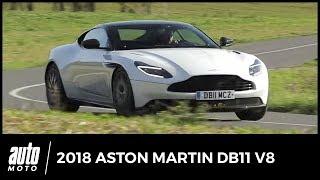 2018 Aston Martin DB11 V8 : le coeur en étoile [essai]